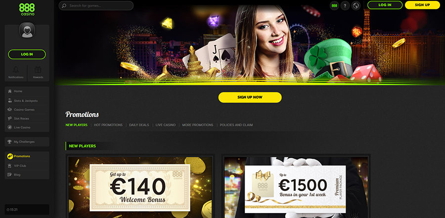 888 Live Casino Site Review Promotions